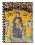Hagia Sofia Mosaic 03 Spiral Notebook