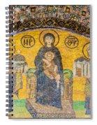 Hagia Sofia Mosaic 03 Spiral Notebook