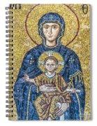 Hagia Sofia Mosaic 05 Spiral Notebook