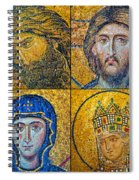 Hagia Sofia Mosaics Spiral Notebook