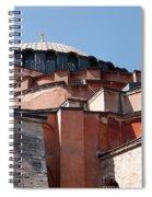 Hagia Sophia Angles 02 Spiral Notebook