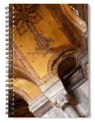 Hagia Sophia Arch Mosaics Spiral Notebook