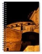 Hagia Sophia At Night Spiral Notebook