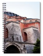Hagia Sophia Buttresses Spiral Notebook