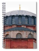 Hagia Sophia Curves 02 Spiral Notebook