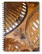 Hagia Sophia Dome 01 Spiral Notebook