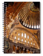 Hagia Sophia Dome 03 Spiral Notebook