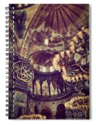 Hagia Sophia Lighting Spiral Notebook