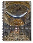 Hagia Sophia Museum In Istanbul Turkey Spiral Notebook