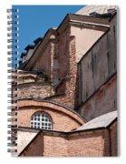 Hagia Sophia Walls 01 Spiral Notebook