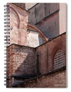 Hagia Sophia Walls 02 Spiral Notebook
