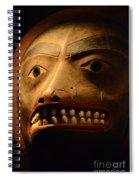 Tlingit Mask Spiral Notebook