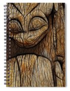 Haida Totem Spiral Notebook
