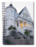Haight Ashbury White Home Spiral Notebook
