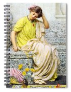 Hairpins Spiral Notebook