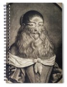 Hairy Maid, 17th Century Spiral Notebook