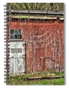 Hairy Red Barn Spiral Notebook