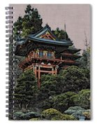 Hakoni Tea House Spiral Notebook