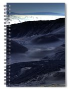 Haleakala Crater Hawaii Spiral Notebook