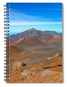 Haleakala Lava Cones Spiral Notebook