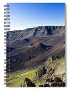 Haleakala Sunrise On The Summit Maui Hawaii - Kalahaku Overlook Spiral Notebook