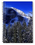 Half Dome Clearing Spiral Notebook