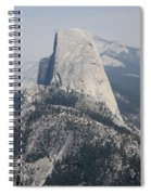 Half Dome Glacier Point Spiral Notebook