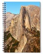 Half Dome Spiral Notebook