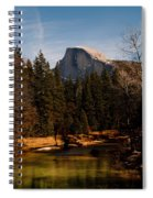 Half Dome Spring Spiral Notebook