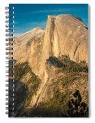 Half Dome Sunset Spiral Notebook