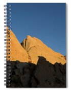 Half Moon At Garden Of The Gods Spiral Notebook