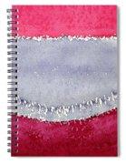 Half Moon Bay Original Painting Spiral Notebook