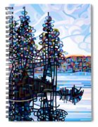 Haliburton Morning Spiral Notebook