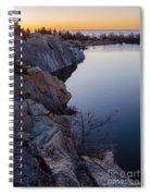 Halibut Point In Rockport Spiral Notebook
