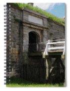 Halifax Citadel Spiral Notebook