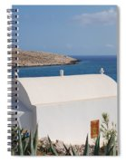 Halki Chapel Spiral Notebook