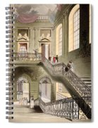 Hall And Staircase At The British Spiral Notebook