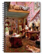 Hall And Staircase Of A Country House Spiral Notebook