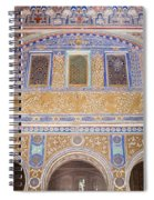Hall Of Ambassadors In The Royal Alcazar Of Seville Spiral Notebook