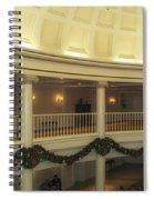 Hall Of Presidents Walt Disney World Panorama Spiral Notebook