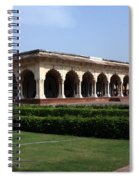 Hall Of Public Audience - Red Fort - Agra Spiral Notebook