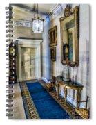 Hall Of Shadows Spiral Notebook