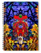 Hall Of The Color King Spiral Notebook