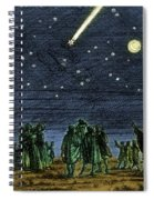 Halleys Comet 1682 Spiral Notebook