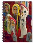Halloween A Big Booo To You Spiral Notebook