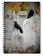 Halloween Is In The Autumn Air Spiral Notebook