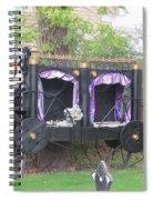 Halloween Carriage Spiral Notebook