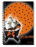 Halloween Ghost Cupcake 2 Spiral Notebook