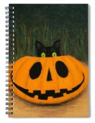 Halloween Kitty Spiral Notebook