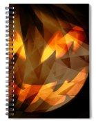 Halloween Moon 2 Spiral Notebook